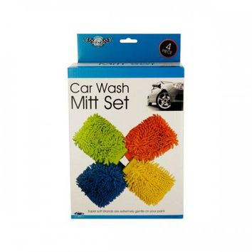 Super Soft Car Wash Mitt Set