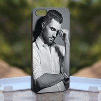Adam Levine, Print on Hard Cover iPhone 5 Black Case