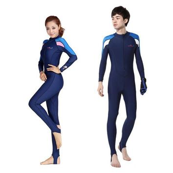 DCCK7N3 Free Shipping Full Dive Skin Jump Suit Wimming Wetsuits  dive suit men or women windsurf suits Diving Suit Swimwear