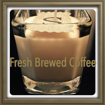 Fresh Brewed Coffee Scented Soy Candles