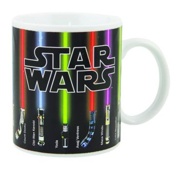 Star Wars Lightsaber Heat Reveal Mug Color Change