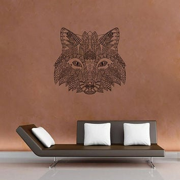 kik2948 Wall Decal Sticker animal fox living room bedroom