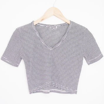 Baby Ribbed Striped Top