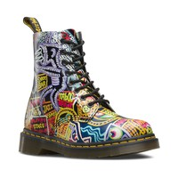 Womens Dr. Martens Pascal 8-Eye Kaboom Boot