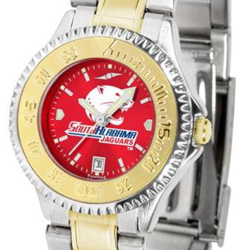 South Alabama Jaguars Competitor Ladies Two-Tone AnoChrome Watch