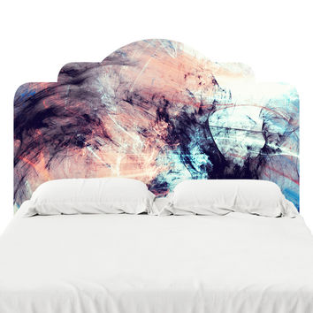 Marbled Glow Headboard Decal