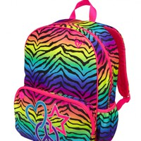 Gradient Zebra Backpack