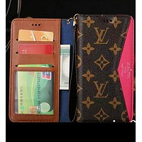 LV Fashion Print iPhone Phone Cover Case For iphone  7 iphone 7plus