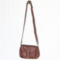 journey of the heart brown cross-body bag