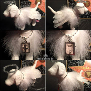 Angel Wings RIP Memory Custom Victoria Secret Dog