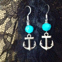Pretty Anchor Earrings