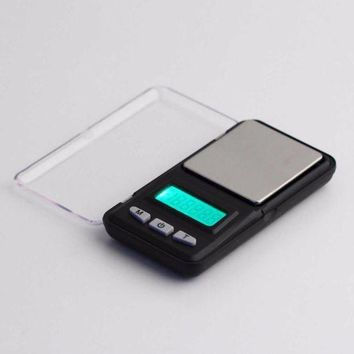 DCCK1IN new 500g 0 1g mini digital professional scale green backlight balance weight hot selling brand new
