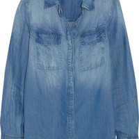 Splendid - Wilder washed-chambray shirt