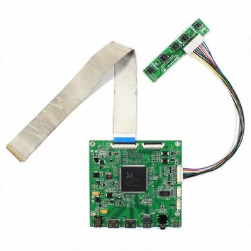 """HDMI DP LCD Contoller Board Work For 4K 15.6"""" 3840x2160 NV156QUM LCD Screen"""