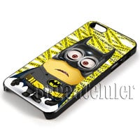 Minion Batman Cover - iPhone 4 4S iPhone 5 5S 5C and Samsung Galaxy S3 S4 S5 Case