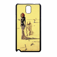 Salvador Dali Woman With Flower Head Samsung Galaxy Note 3 Case