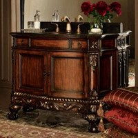 Ambella - Ball & Claw Footed Chest with Sink - Horchow