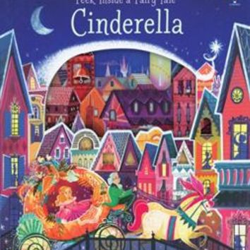 Usborne Books & More. Peek Inside a Fairy Tale Cinderella