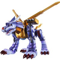 "Bandai Tamashii Nations S.H. Figuarts Metal Garurumon ""Digimon"" Action Figure"