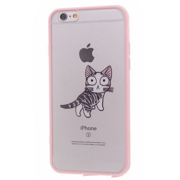 Phone Cases for iPhone 5S case Soft silicon Cover for Apple 6 6S Plus 5 5S SE 5C 6Plus 6SPlus 4 4S Pink Princess Rainbow Color