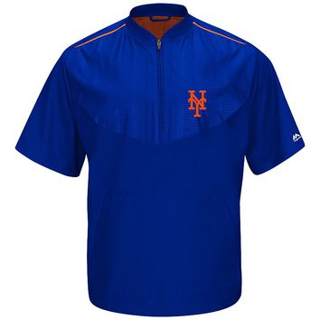 Majestic New York Mets On-Field Cool Base Training Jacket
