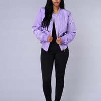 Notorious Jacket - Lilac