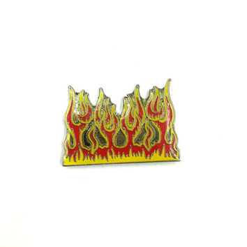 FLAMEZ Vintage 90's Lapel Pin