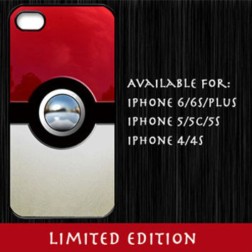 Limited Edition Pokeball iPhone Case