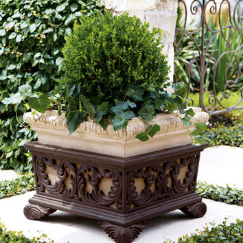 Neiman Marcus Square Planter with Stand
