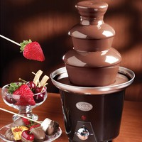 Nostalgia Mini Chocolate Fondue Fountain