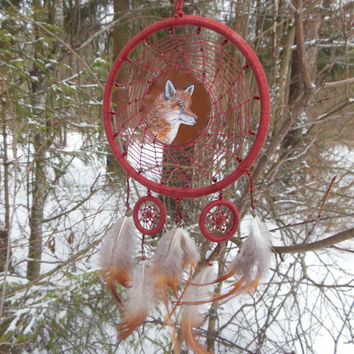 New Dreamcatcher Fox Dream catcher