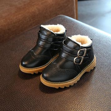 2018 New brand hot sales high quality children boots casual breathable cool kids sneakers fashion baby girls boys shoes