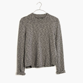 Marled Mockneck Top : shopmadewell AllProducts | Madewell