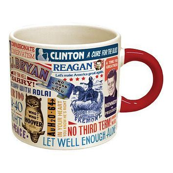 PHILOSPHERS GUILD PRESIDENTIAL SLOGAN MUG