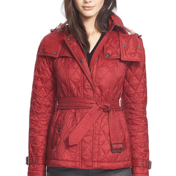 Burberry Brit Finsbridge Short�Quilted Jacket LAVELIQ