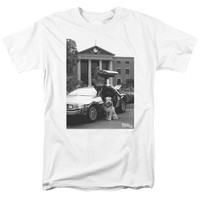 Back To The Future Ii - Einstein Short Sleeve Adult 18/1