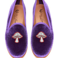 Prince Albert Mushroom Slipper Loafers by Del Toro - Moda Operandi