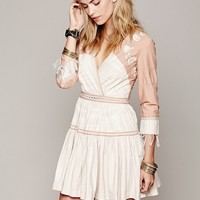 Free People FP New Romantics Lovers Lane Ikat Dress