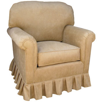 Angel Song 20182172Foam Faux Suede Camel Adult Continental Rocker Glider