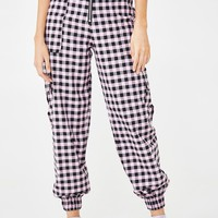 Pleasure Gingham Pants