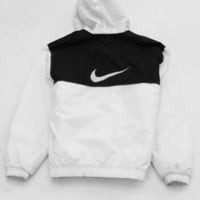 KYC Vintage — Nike Jacket Large White and Black