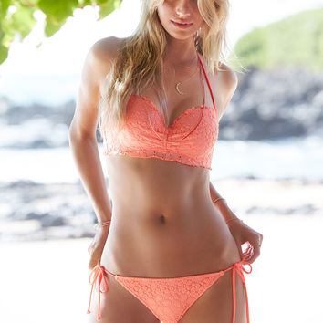 The Lace Teeny Bikini Bottom - Beach Sexy - Victoria's Secret