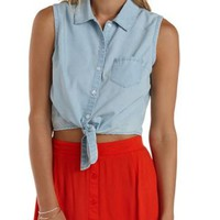 Knotted Sleeveless