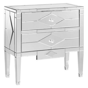 Jasmine 2 Drawer Side Table