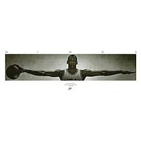 MICHAEL JORDAN POSTER Famous Wings Print 72 x 24 - 6ft x 2ft RARE HOT NEW