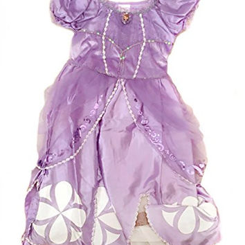 Disney Store Authentic Princess Sofia the First Costume Dress Size 4