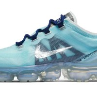 Nike Air VaporMax 2019 + Crystals - Teal Tint/ Blue Void