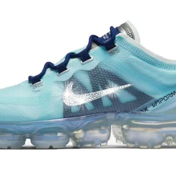 Nike Shox Current + Swarovski Crystal from Glitter Kicks e5d03e79e297