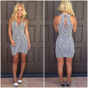 Opposites Attract Tweed Dress