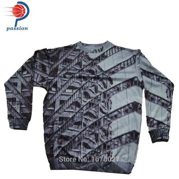 Men Winter Heavy Cashmere Pullover Sweater Custom Bullet Sweater Sublimated Sweatshirt